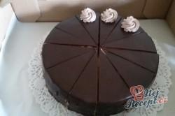 Příprava receptu Šlehačkový pařížsky dort - FOTOPOSTUP, krok 13