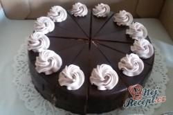Příprava receptu Šlehačkový pařížsky dort - FOTOPOSTUP, krok 14