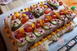 Příprava receptu Jak na slaný dort - fotopostup od fanouška, krok 16