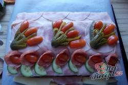 Příprava receptu Jak na slaný dort - fotopostup od fanouška, krok 13