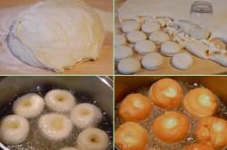 Příprava receptu Fantastické koblihy s jahodovou pěnou, krok 2