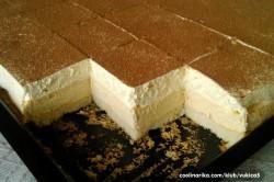 Příprava receptu Ledové smetanové kostky, krok 7
