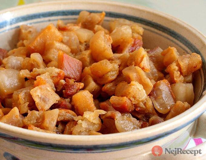 Recept Valašské müsli - domácí škvarky a sádlo