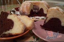 Příprava receptu Jednoduchá piškotová bábovka, krok 8
