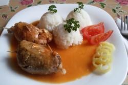 Příprava receptu Španělské ptáčky s jasmínovou rýží, krok 12