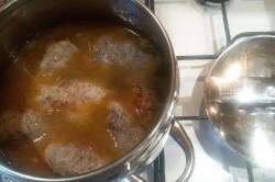 Příprava receptu Španělské ptáčky s jasmínovou rýží, krok 9