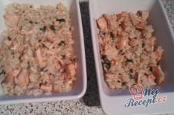Příprava receptu Zapečené rizoto s lososem, krok 1