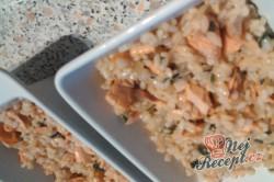 Příprava receptu Zapečené rizoto s lososem, krok 2
