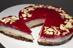Příprava receptu Bez cukru, bez mouky a hlavně za 10 minut připraven cheesecake s malinami, krok 1