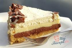 Příprava receptu Fenomenální nepečený čokoládový dort, krok 1