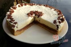 Příprava receptu Fenomenální nepečený čokoládový dort, krok 3