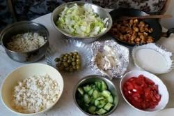 Příprava receptu Babylónský salát od Adanecky, krok 1