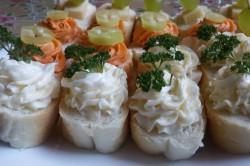 Příprava receptu Slané kanapky - Rychlé pohoštění pro návštěvu, krok 6