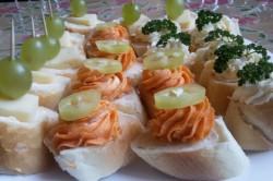 Příprava receptu Slané kanapky - Rychlé pohoštění pro návštěvu, krok 7