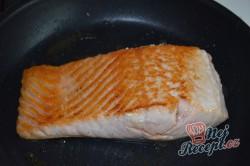 Příprava receptu Bylinkové bagetky s čerstvým špenátem a lososem, krok 1