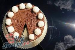 Příprava receptu Nugátový dort s kokosovými kuličkami, krok 1