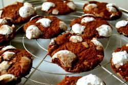 Příprava receptu Čokoládové cookies KRAVIČKA - fotopostup, krok 5