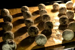 Príprava receptu Čokoládové cookies KRAVIČKA - fotopostupy, krok 4