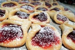 Příprava receptu Zvonky plněné marmeládou, krok 1