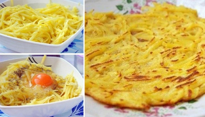 Recept Jednoduché netradičné bramboráčky hotové za 5 minut