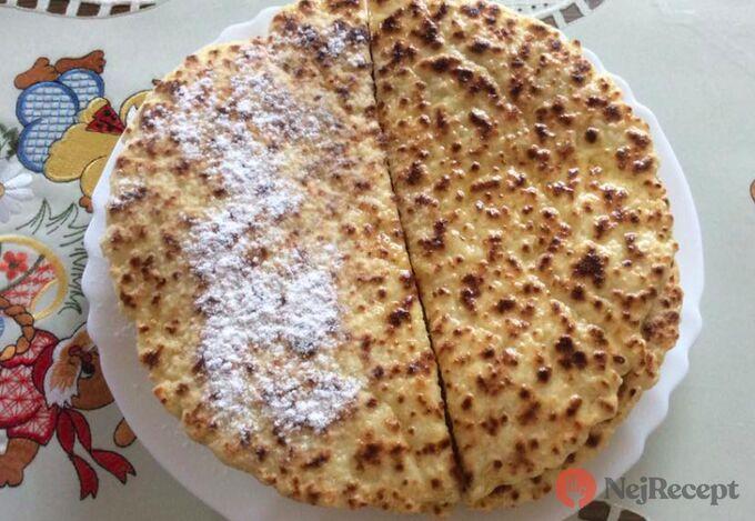 Recept Tvarohová lokša s cukrem nebo mákem