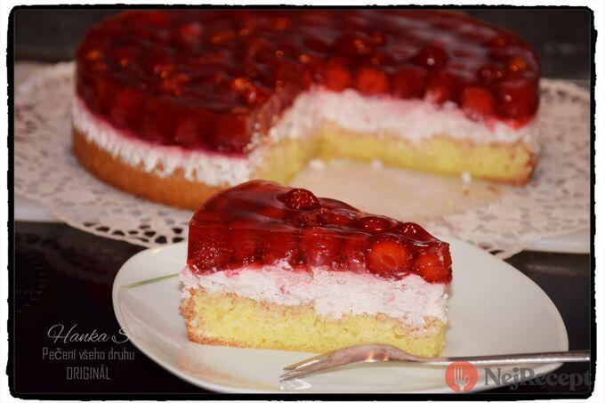 Recept Ovocný dort s mascarpone krémem a ovocnou želatinou