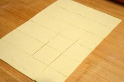 Příprava receptu Sladké košíčky plněné mascarpone krémem, krok 1