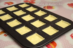 Příprava receptu Sladké košíčky plněné mascarpone krémem, krok 6