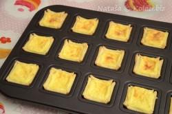 Příprava receptu Sladké košíčky plněné mascarpone krémem, krok 7