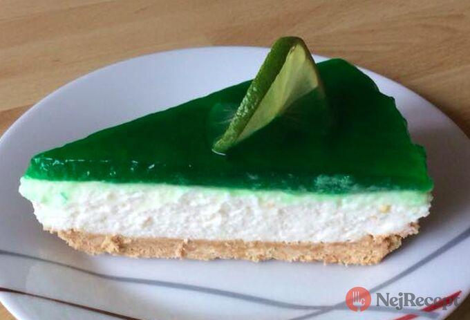 Recept Fantastický cheesecake s limetkou