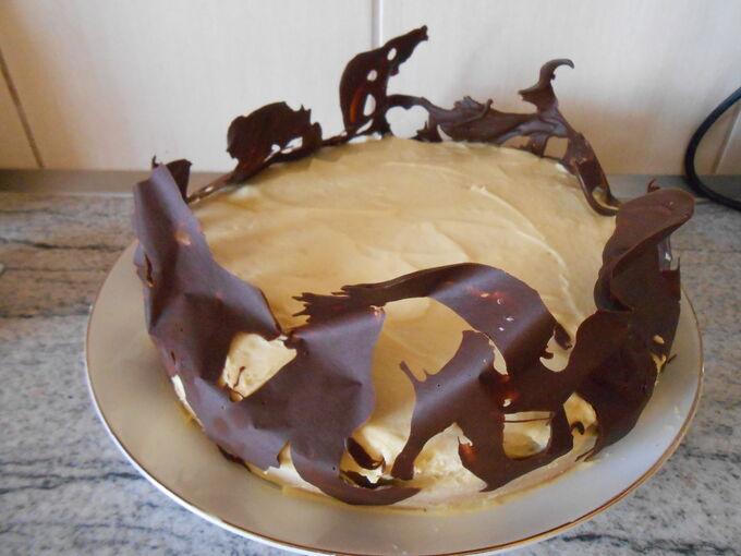 Recept Piškotový dort s pudinkovým krémem