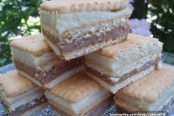 Příprava receptu Nepečené sušenkové řezy připravené za 10 minut, krok 1