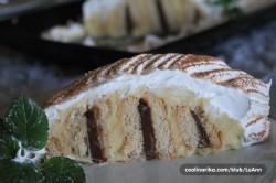 Příprava receptu Falešný metrový koláč (bez pečení), krok 6