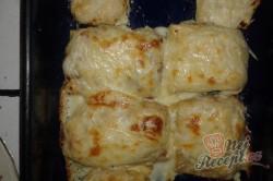 Recept Zapečené palačinky s kuřecím masem a sýrem