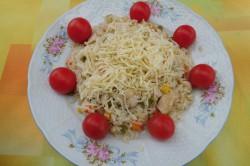 Recept Zeleninové rizoto s kuřecím masem