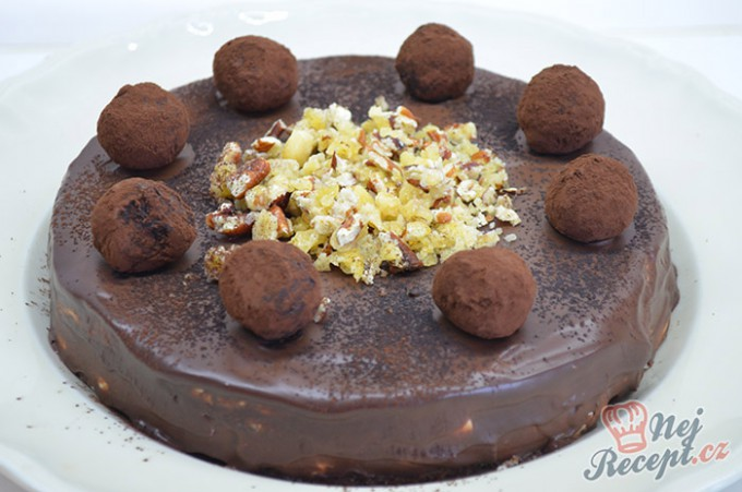 Recept Cuketový dort s tvarohovým krémem