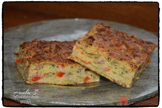 Recept Cukeťák - slaný koláč se strouhaným sýrem