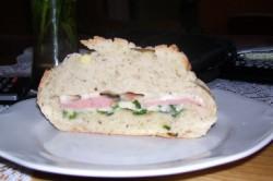 Příprava receptu Plněný krokodýl se šunkou a sýrem, krok 4
