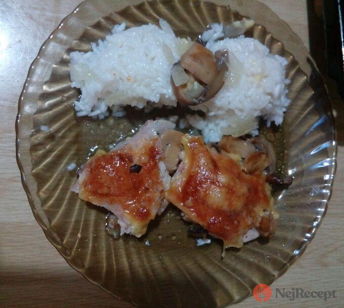 Recept Skrytá prsa s rýži