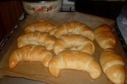 Příprava receptu Máslové croissanty FOTOPOSTUP, krok 13