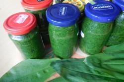 Příprava receptu Pesto z medvědího česneku, krok 4