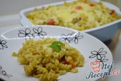 Příprava receptu Zapečené těstoviny s tuňákem, pestem a rajčaty, krok 7