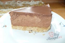 Příprava receptu Čokoládový cheesecake s mascarpone, krok 3