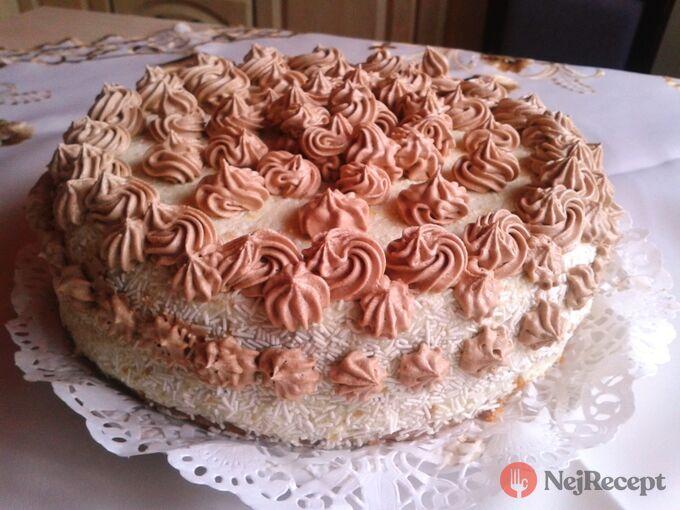 Recept Tvarohový dort - FOTOPOSTUP
