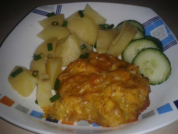 Recept Kuřecí kari placičky se sýrem