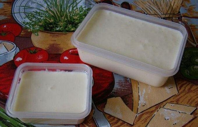 Recept Domácí tavený sýr