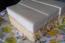 Příprava receptu Jednoduché citrónové řezy s bílou čokoládou, krok 11