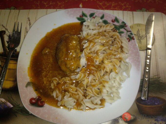 Recept Rajská s čuftama