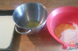 Příprava receptu Jednoduché citrónové řezy s bílou čokoládou, krok 1