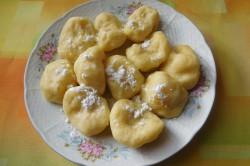 Příprava receptu Tvarohové knedlíky s jablky, krok 7